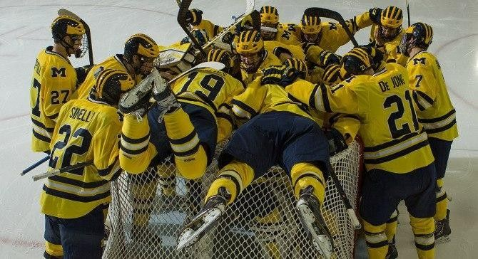 Michigan Wolverines Hockey vs. Ferris State Bulldogs Ann Arbor, MI #Kids #Events