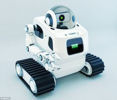 $400 home robot can be remotely controlled by cleaners and workmen