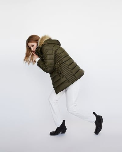 LONG PUFFER COAT-View All-OUTERWEAR-WOMAN-SALE | ZARA United States