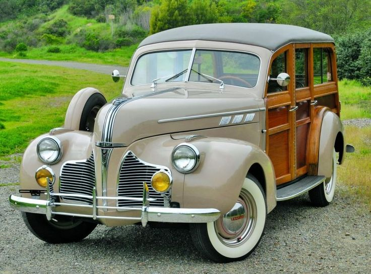 1940 Pontiac - Woodie, Plus Over 1000 Different Classic Cars    http://www.pinterest.com/njestates/cars/     Thanks To http://www.NJEstates.net/