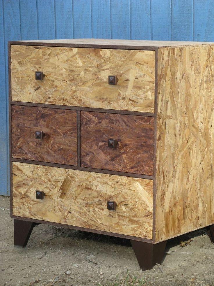 Custom Made Four Drawer Dresser Osb Watco Fine Furniture Oil