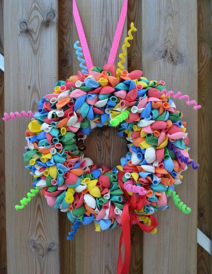 Zo leuk voor op de verjaardag van je kind! Of voor geboorte in kleuren roos/wit of blauw/wit