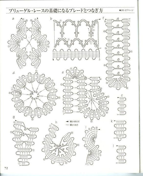 Crochet Lace book 3 - Irene Persson - Picasa Web Albums crochet bruges