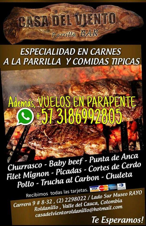 Casa del Viento Parrilla - Bar y Vuelos en #Parapente #Roldanillo #ValledelCauca #Colombia http://goo.gl/8md7uZ