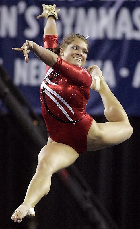 Gymnasts With Shapely Muscular Calves Gymnasts
