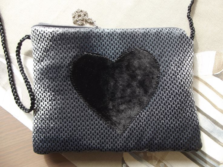 little bag with heart