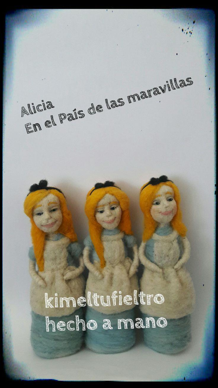 Alicia  En el País de las maravillas Fieltro agujado Chile