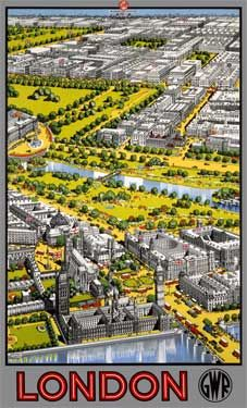Central London, GWR 1936