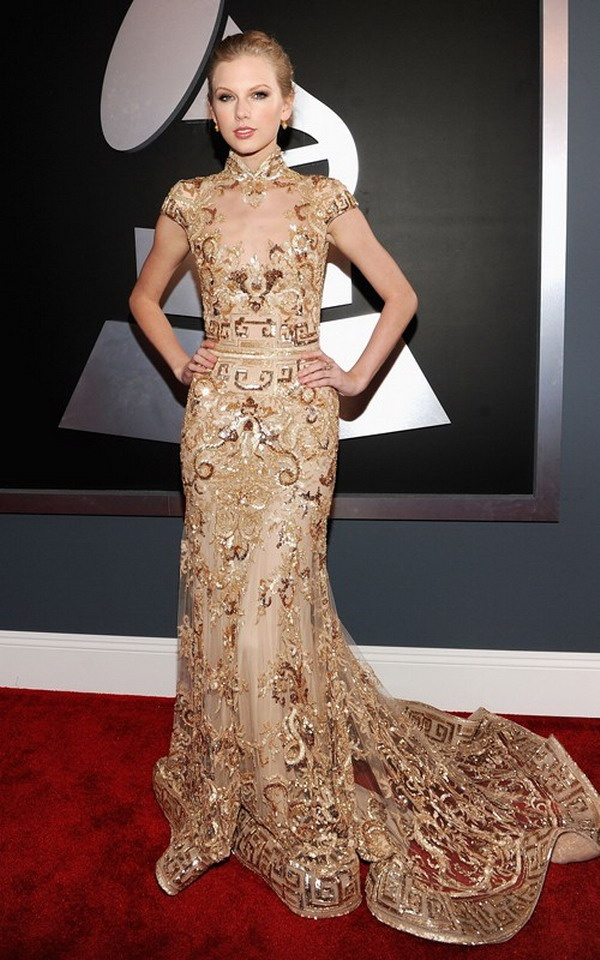 Taylor Swift at the 54th Grammy Awards