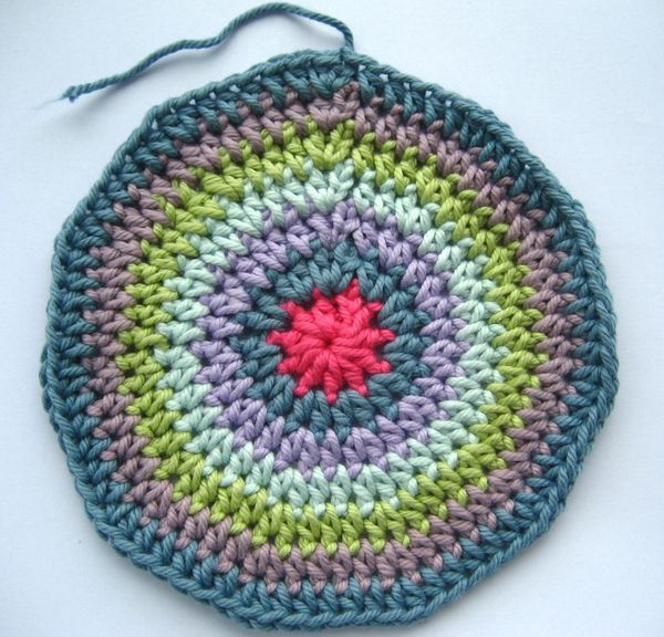 I thought it would be useful to add this circle pattern as a page in it's own right, as it's a very useful pattern to know. A flat circle can be used to make a round cushion, the bottom of...