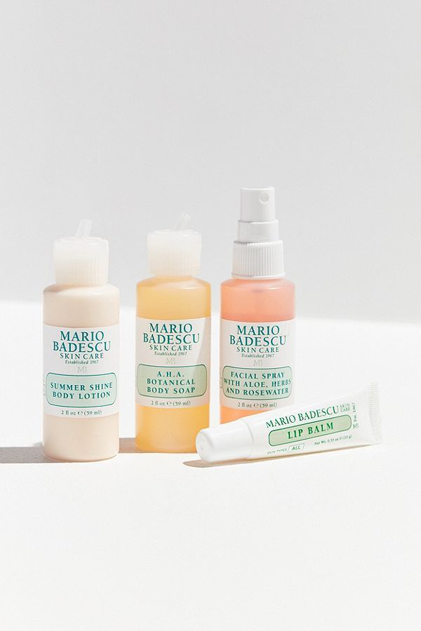 Mario Badescu Mini Must Haves Set With Images Skin Care Kit