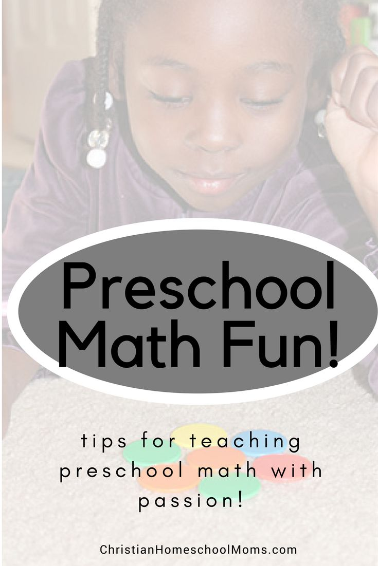 Tips for teaching preschool math with passion and fun!