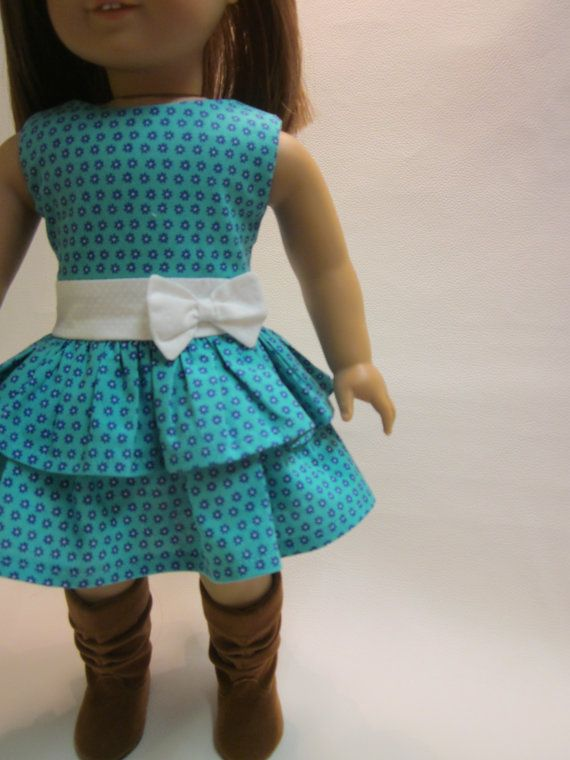 18 Inch American Girl Doll Clothes Easter Spring Dress