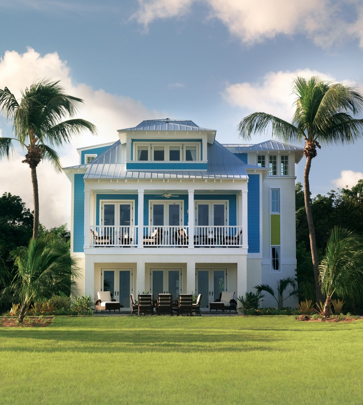 Inside A Tiny Florida Cottage Full Of Tropical Colors: 98 Best Images About Dream Homes On Pinterest