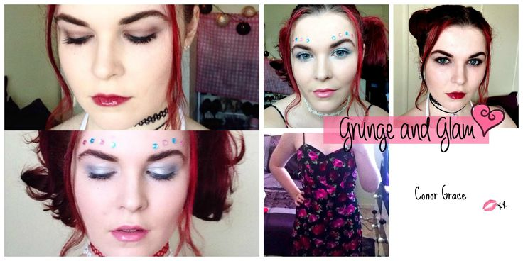 90s Grunge and Glam Makeup Tutorial