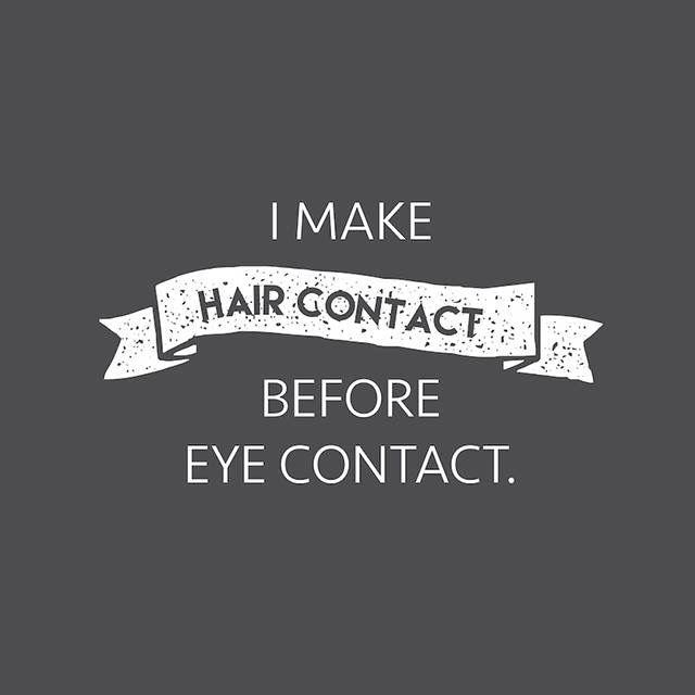 Hair contact                                                                                                                                                      More