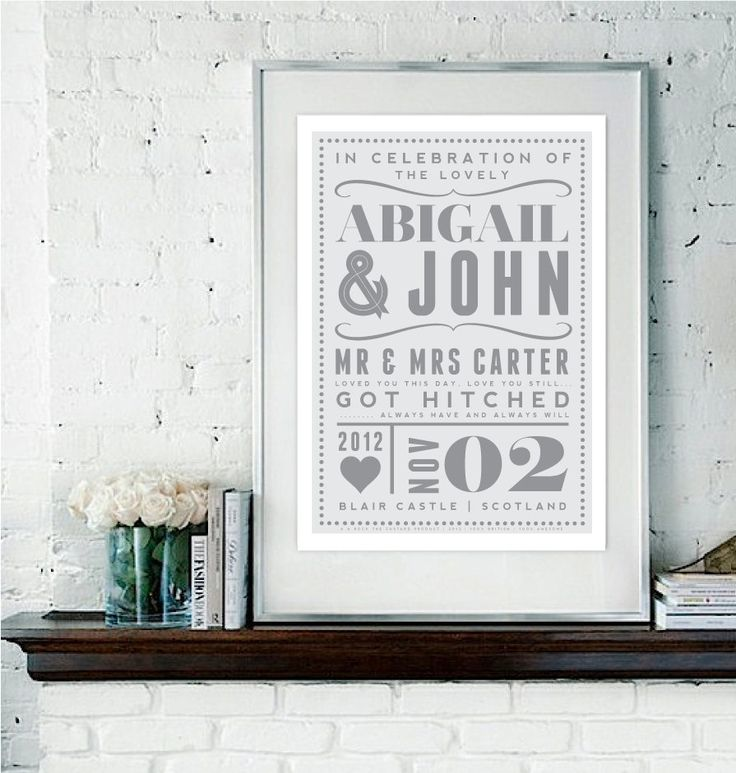 106 Best Gifts Wedding Anniversary Images On Pinterest Weddings Casamento And Ideas