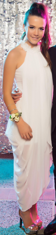 Sacred Heart Ball 2015. Beautiful feminine gown! www.whitedoor.co.nz