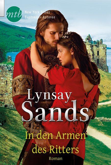 Lynsay Sands - In den Armen des Ritters   Wie eine zarte Elfe wäre Lady Avelyn ihrem unbekannten Bräutigam gern entgegen geschwebt. In dem viel zu eng geschnürten Hochzeitskleid kann sie zwar kaum atmen - doch immerhin sind ihre üppigen Rundungen gut kaschiert. [...]