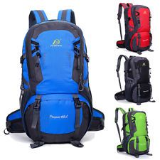 40L Waterproof Nylon Outdoor Backpack Athletic Sport Hiking Travel Rucksack Bag