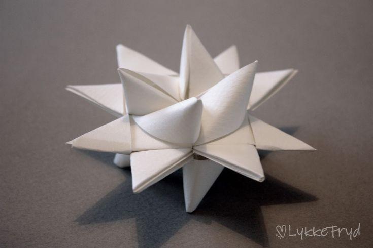 DIY: Papirstjerner