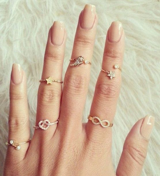 Very Into The Midfinger Rings