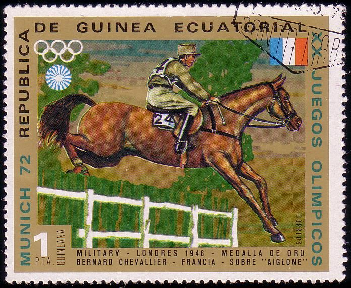 Stamp from Equatorial Guinea | Munich 1972, Olympic Games