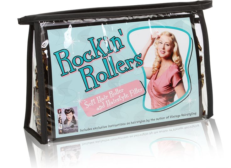 Vintage Hairstyling | Rockin Rollers Soft Hair Rollers