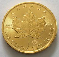 Canada - 50 dollars 2015 'maple leaf' - 1 oz gold