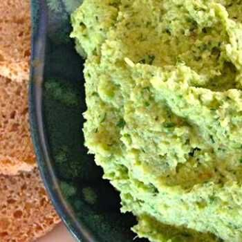 A full on vegie hummus. Good for you and a great way to get the kids feasting on them. Easy. Thanks Gina.