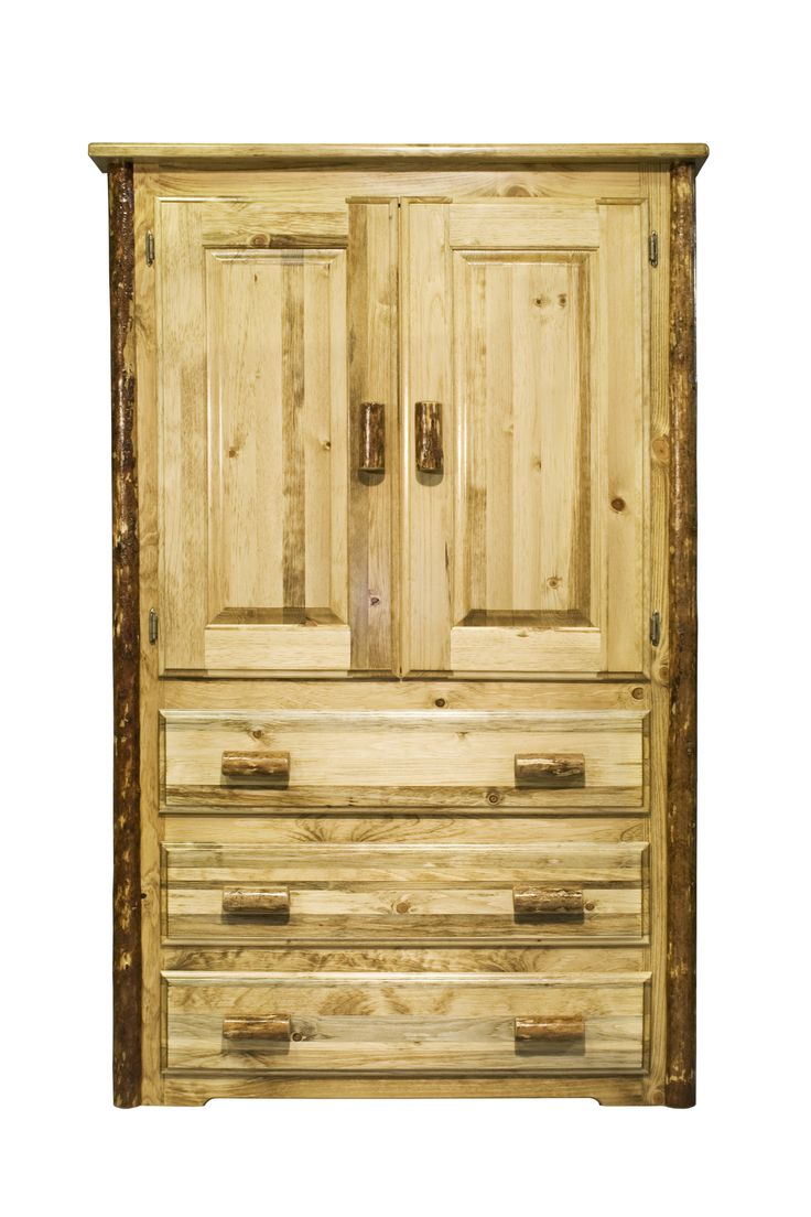 We Offer This Handcrafted Amish Log Armoire And Other Fine Handcrafted Log  Wardrobes. Browse Our Rustic Furniture Catalogs Now. Free Delivery To 48  States.