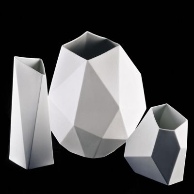 Stunning Surface vase collection - Achim Haigis for Rosenthal.