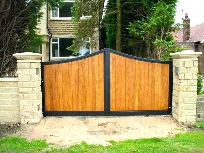 Gate Wooden Wooden And Metal Gates Wooden Gate Wooden And Metal Driveway Gates Wooden Gate Lock Ideas