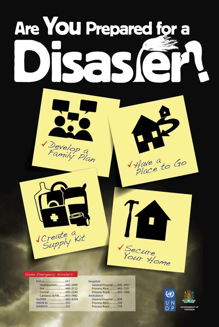 Poster design 2014 - Disaster Management Poster Aqua Gd 2014