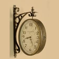 A #decorative #clock is a way to decorate an empty wall. http://bit.ly/1zQrCsn