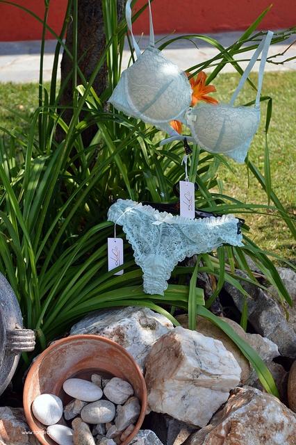 LiDa turquoise and ivory set