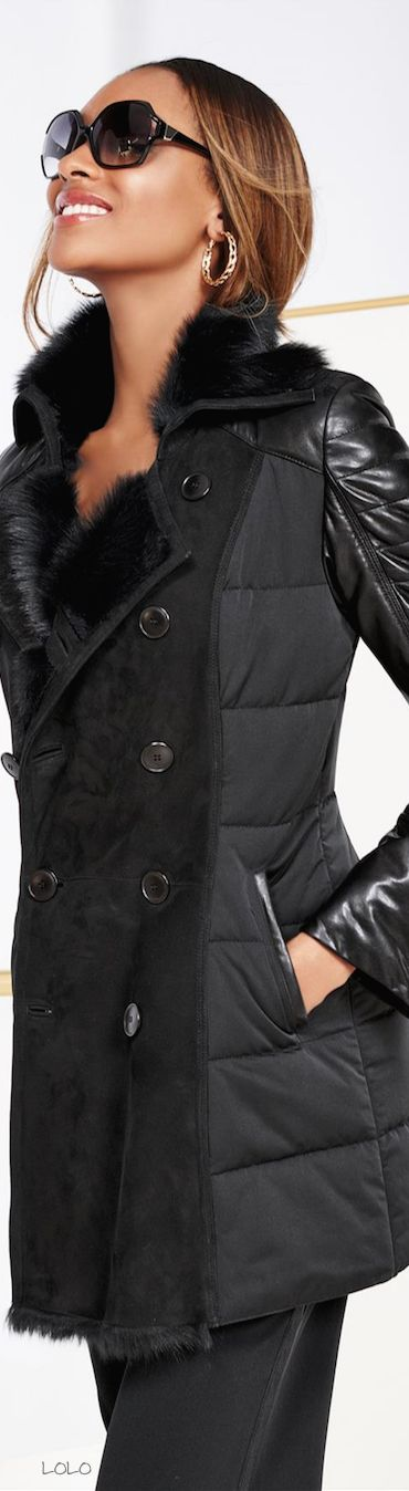 Jourdan Dunn for Madeleine Shearling designs will be HOT this year... shared by www.facebook.com/DrRobertNYoung