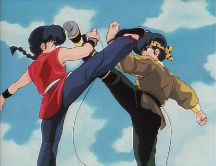 Ryoga Hibiki vs Ranma Saotome - Pesquisa Google
