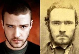 Unbelievable Celebrity Doppelgangers From History.   Some of theses are pretty good!