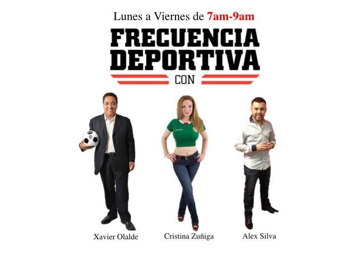 Xavier y Cristina nos hablan de la Selecci�n Mexicana, y del f�tbol de estufa.
