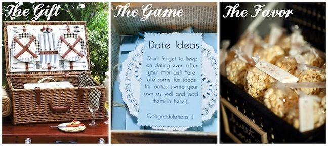 Date Night Gift For Wedding : Date night theme