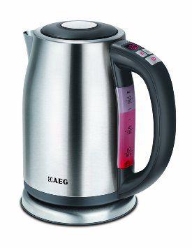 AEG EWA 7500 Bollitore, regolatore temperatura con visualizzazione digitale, 1,7 litri: Amazon.it: Casa e cucina