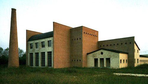 Aldo Rossi, New Town Hall, Borgoricco