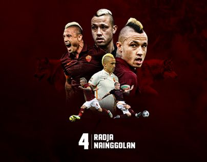 "Check out new work on my @Behance portfolio: ""Radja Nainggolan - AS Roma player"" http://be.net/gallery/37378015/Radja-Nainggolan-AS-Roma-player"