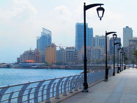 Things to do in Beirut:#Beirut Corniche