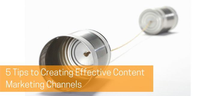 """A channel is a pathway that facilitates the movement of goods, services, or information. Content marketing requires proper channels to ensure that information reaches its intended audience.  """"5 Tips to Creating Effective Content Marketing Channels"""" will help you to learn more."""