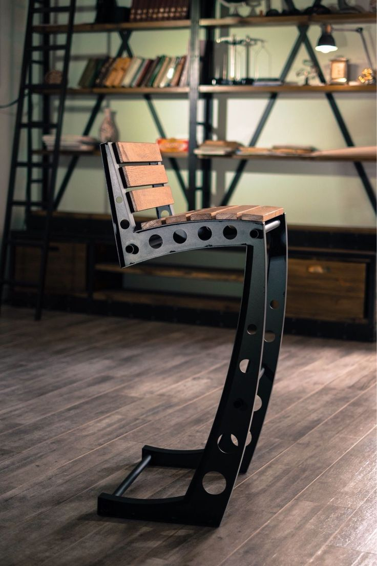 Купить Барный стул стиль лофт, индастриал. - барный стул, стул, лофт мебель