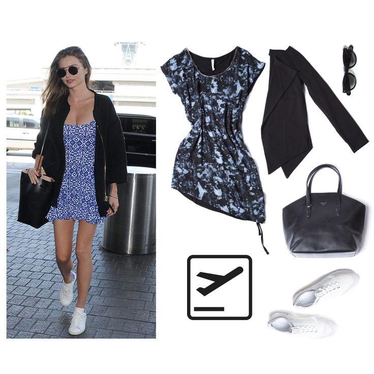 Miranda Kerr cestuje, inspirujte se jejím outfitem a našemi produkty