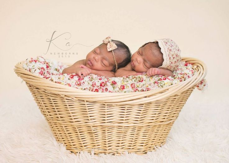 Large basket perfect for twins newborn photography propsnewborn