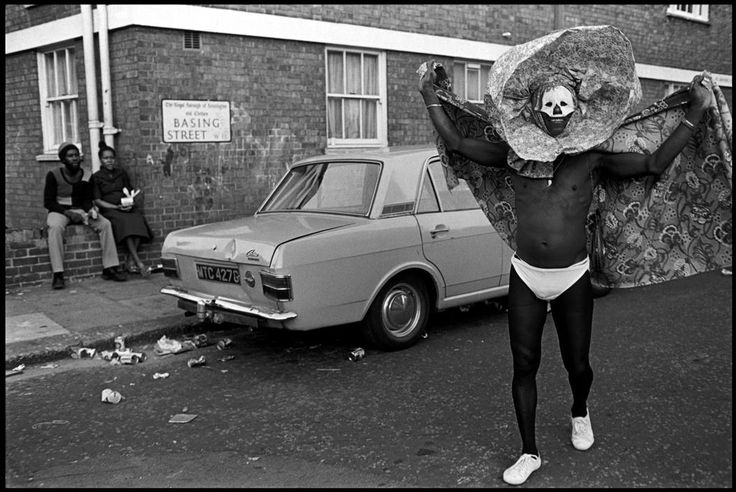 Chris Steele-Perkins. Notting Hill Carnival. 1975.